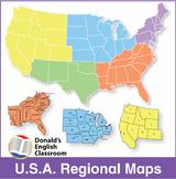 USA Regional Maps