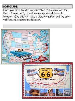 USA Road Trip Project