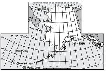 USA Sets - Alaska State Maps with Lat/Long Overlays {Messare Clips and Design}