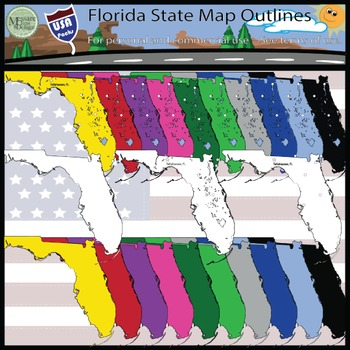 USA Sets - Florida State Set {Messare Clips and Design}
