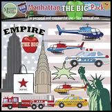 "USA Sets - NYC Manhattan ""Big Apple"" Clip Art Pack {Messare Clips and Design}"