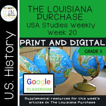 USA Social Studies Weekly The Louisiana Purchase Week 20
