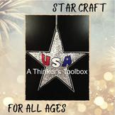 USA Star Patriotic Holiday Craft