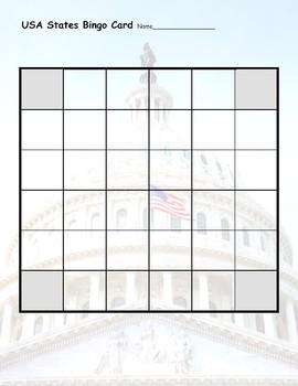 USA State Bingo: Geography Trivia Game