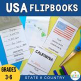 USA State & Country Flipbooks