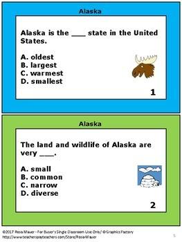 USA State Facts Social Studies Bundle