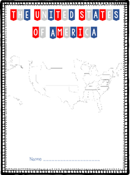 USA State Packet