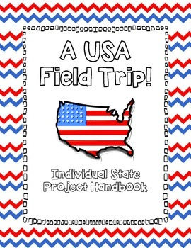 USA State Research Project (Grades 4 - 6)