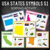 USA State Symbols Sorting Activity Set 1