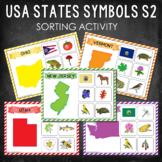 USA State Symbols Sorting Activity Set 2
