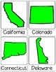 USA States 3 Part Cards | K-3 | Montessori