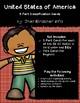 USA States 3 Part Cards | PreK | Montessori