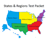 USA States & Regions Assessments / quizzes (25 assessments)