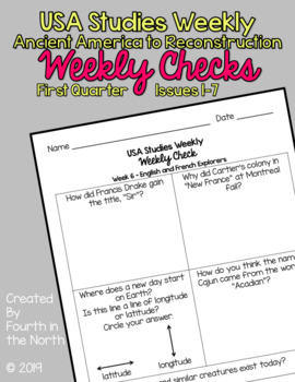 Science Studies Weekly 5th Grade Answer Key