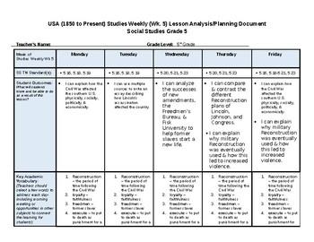Social Studies Weekly 4th Grade Answer Key Week 9