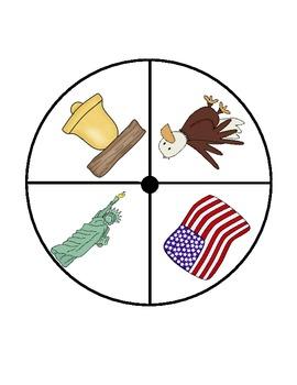 USA Symbols Math Activities (2)/Election Day