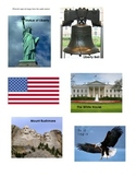 USA Symbols and Landmarks Graphing Center