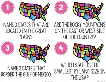 USA Task Cards