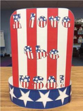 Patriotic USA Top Hat