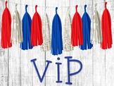 USA VIP Sign