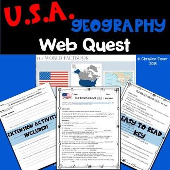 USA Web Quest - United States
