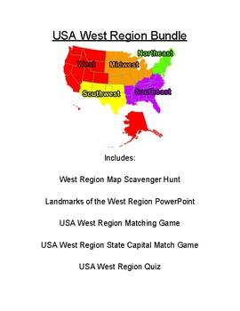 USA West Region Bundle