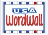 USA Word Wall Theme