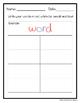 USA Word Work - Patriotic Sight Word Practice!