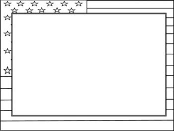 usa flag border blank insert by tamara isaac tpt