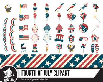 USA fourth of July |  independence day | red white and blue | stars and stripes