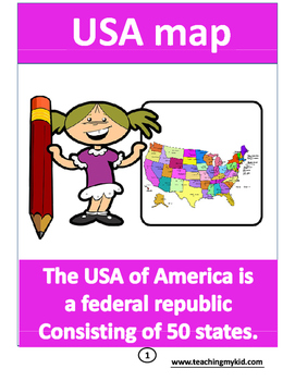USA map Interactive United
