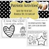USA patriotic activities