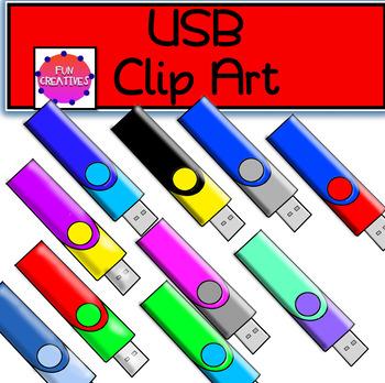 USB Clip Art
