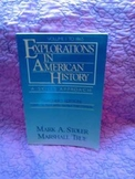 USED BOOK:  Explorations in American History: A Skills Approach Vol. 1