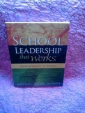 USED BOOK:  School Leadership that Works:  From Research to Results