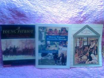 USED BOOKS:  Colonial America History 3 Pack