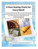 Beginning of the Year Seating Charts, Beautiful, Useful!!