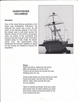 USHistory-Christopher Columbus song and script