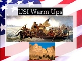 USI warm ups & exit tickets, over 150+ for colonial era th