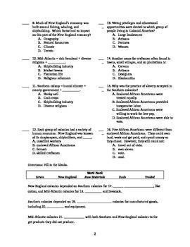 USI.5 Colonial America Unit Test