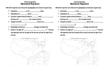 USI.8 Westward Expansion Guided Notes