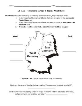 USII.8a Worksheet
