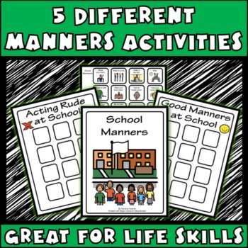 USING MANNERS, File Folder Activities