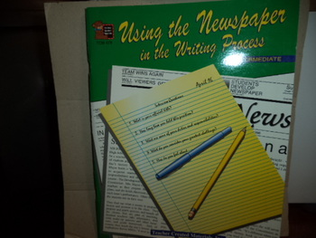 USING THE NEWSPAPER IN THE WRITING PROCESS