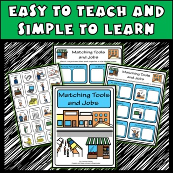 USING TOOLS File Folder Activities & Games: Special Education, Autism, Aspergers