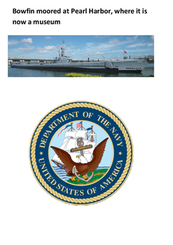 USS Bowfin Pearl Harbor Word Search