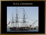U.S.S Constitution or Old Ironsides PowerPoint Virtual Tou