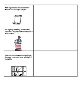 U.S/World History Architectural History Project/Assignment