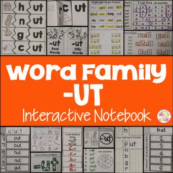 UT Word Family Interactive Notebook