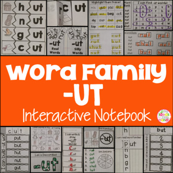 UT Word Family Interactive Notebook